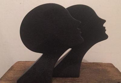 Vintage Iron Craft  Ladies Bookend