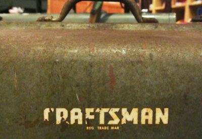 "Vintage USA ""Craftsman""Tool Box"