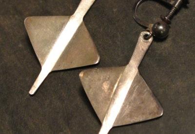60〜70'S Norway PLUS AGE Silver Earring