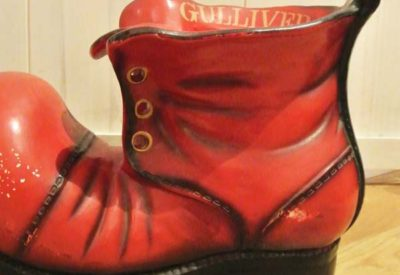 70'S Gulliver Shoes Ceramic Planter