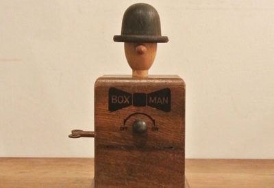 70'S 「BOX MAN」 Music Box Orgel Design: AQIYOSHI SHIMAZUE