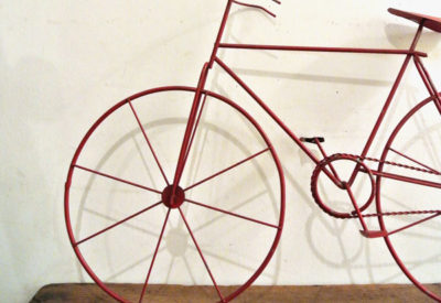 80'S Iron Craft Bicycle Objet