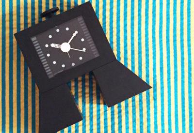"1989 WAKITA HI-TECS ""Super present""Alarm Clock  Design:Syohei Mihara"