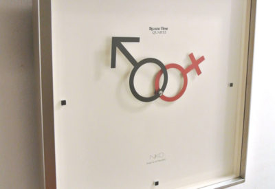 "80'S ""Space Time"" Wall Clock Design: ko mizuyama"
