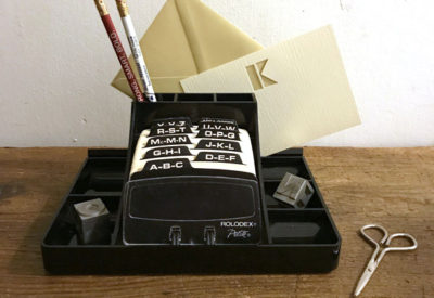 Vintage USA ROLODEX Desk Organizer