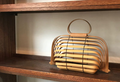 "Vintage Bamboo ""Shell Bag"" (Made in Japan)"