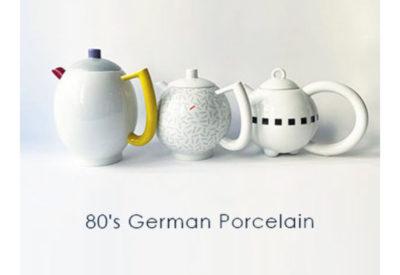 Onlineストア企画 Vo.2「 80's German Porcelain 」(5/4更新)